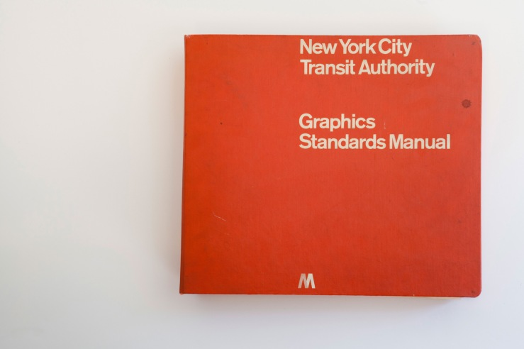 NYC Transit Manuel  // via blog.leahsprague.com